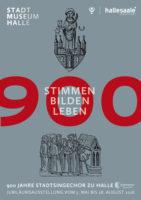 Plakat Ausstellung 900 Jahre Stadtsingechor