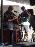 John Barden auf der Irish Folk Bühne