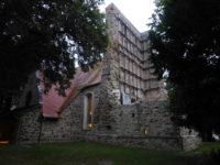 Der eingestürzte Turm von Osmünde