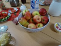 Gesundes Frühstück bei den Linken