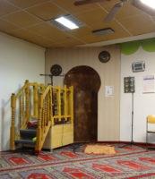 Die Moschee öffnet von 11 - 16 Uhr