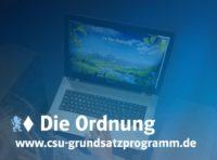 CSU will in Deutschland Ordnung schaffen, Maut, Oktoberfest und Weißwurscht für alle!