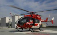EC 145 auf einer Klinik 1 Quelle: DRF Luftrettung, Maike Glöckner.