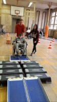 Der Rollstuhlparcours