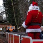 Der Nikolaus kam mit dem Peißnitzexpress ...