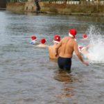 Saaleschwimmen für die ganz Harten