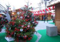 Der Weihnachtsmarkt in Lugo (Nordwestspanien) öffnet erst am 23. Dez.