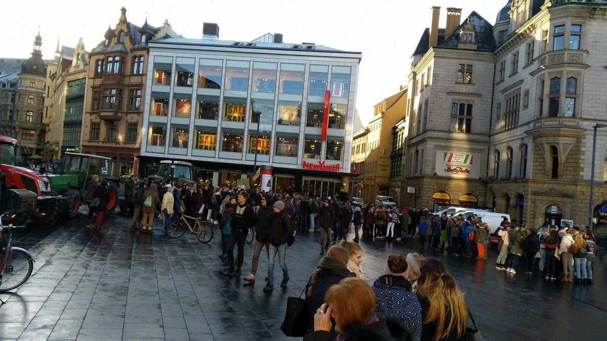 Fridays For Future Photo: Die CDU, Die LINKE Und Die Bösen Schüler