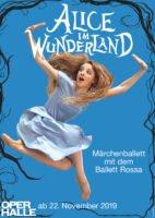 Werbemotiv zu Alice im Wunderland © Theater, Oper und Orchester GmbH, Sindy Michler