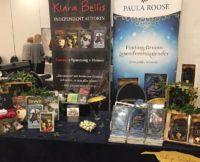 Messetsand von Klara Bellis und Paula Roose auf der BuchBerlin 2019